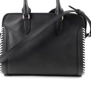 Alexander McQueen leather hangbag